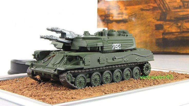"""1:72 ZSU-23-4 SHILKA Soviet self-propelled fabbri mod & mag № 38 """"Russian Tanks"""" #GeFabbri"""