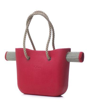 Love this Red O Beach Bag & Mat Set by O Bag on #zulily! #zulilyfinds