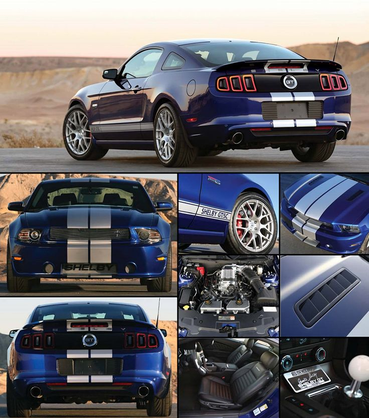 2014 Mustang Shelby GT...honey I think I need one;)