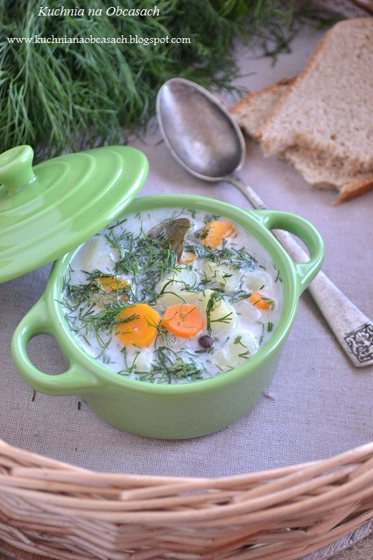 kuchnia na obcasach: Zupa koperkowa