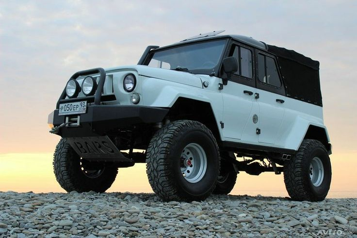 UAZ Hunter from Russia