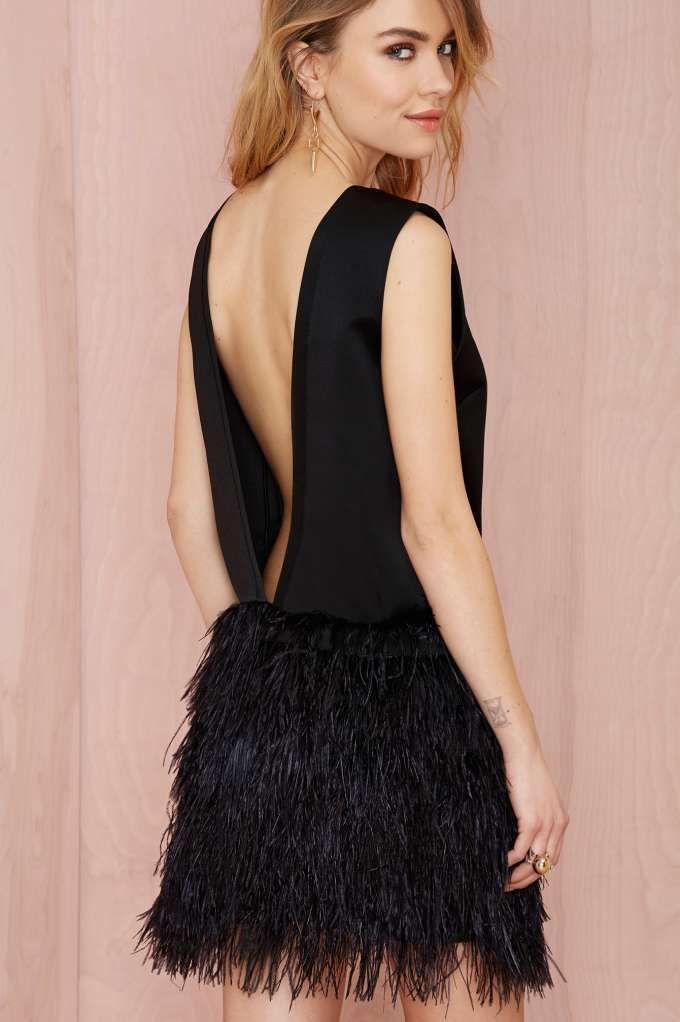 Nasty Gal Light as a Feather Dress