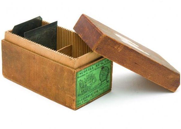 Vintage - plate boxes | Contemporary Daguerreotypes
