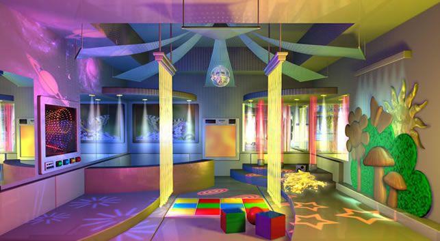 Love this sensory room!