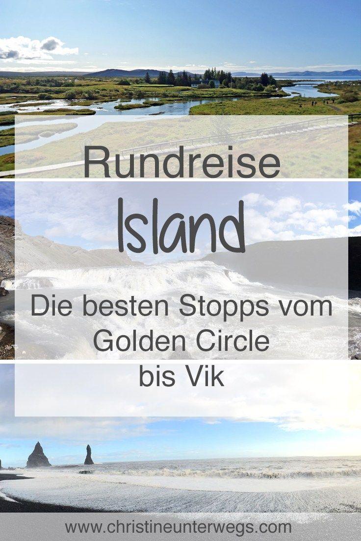 Die besten Stopps vom Golden Circle bis Vik findest du hier: https://www.christineunterwegs.com/reisen/island/golden-circle-vik/