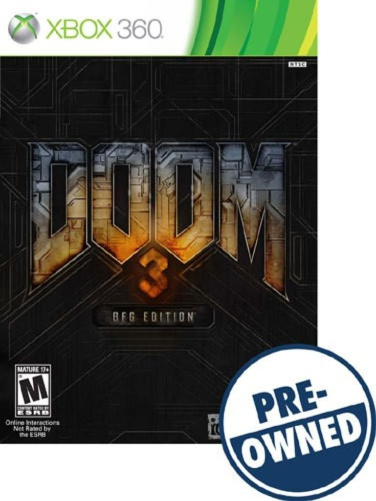Doom 3 BFG Edition — PRE-Owned - Xbox 360