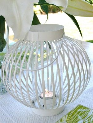 Japanese White Lantern
