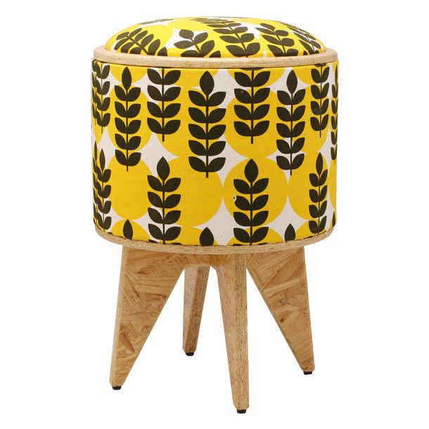 POMADA Stool - this doesn't look the least bit functional or comfortable but it is cute.
