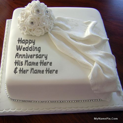 19 Best Anniversary Cakes Images On Pinterest Happy