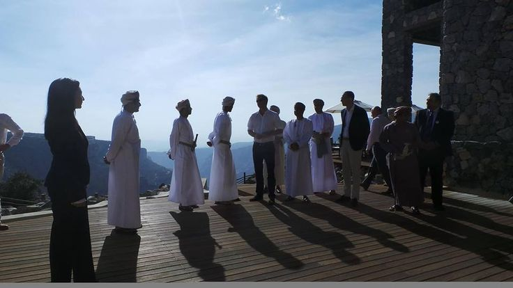 Prince Harry visited Alila Jabal Akhdar