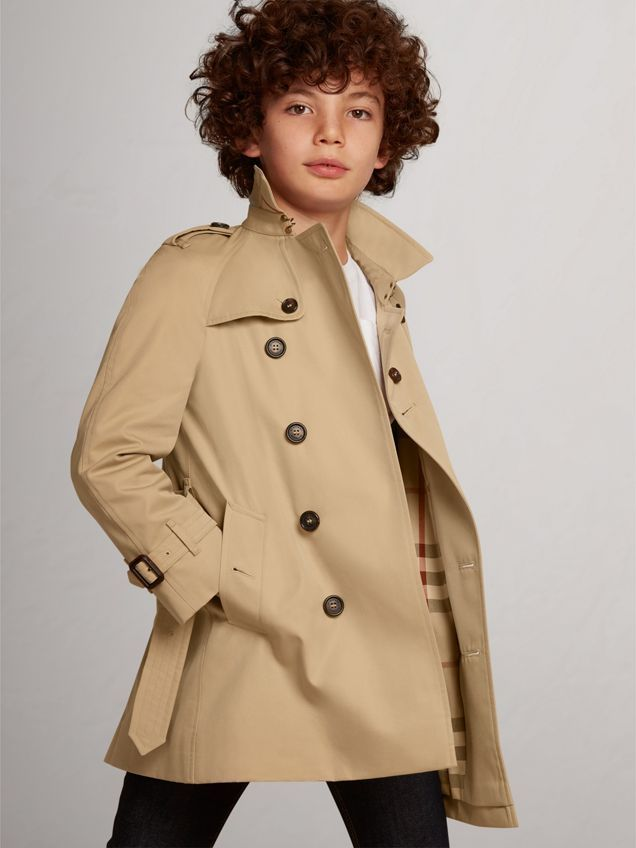 b7e86aa94 The Wiltshire Trench Coat in Honey color | The Wiltshire is a classic-fit trench  coat featuring raglan sleeves. This trench coat is made in England from ...