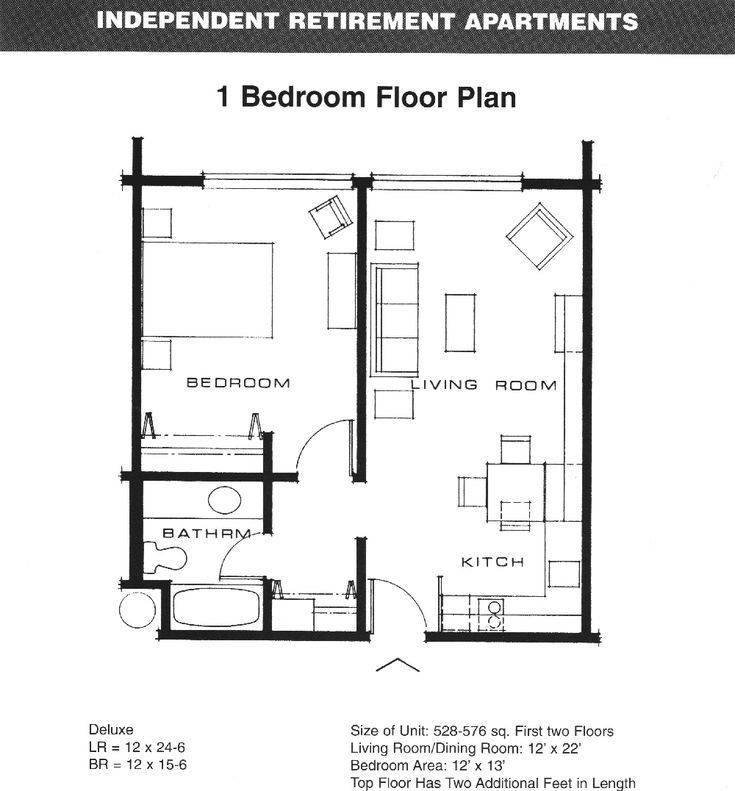 one bedroom apartment floor plans Google Search Plans