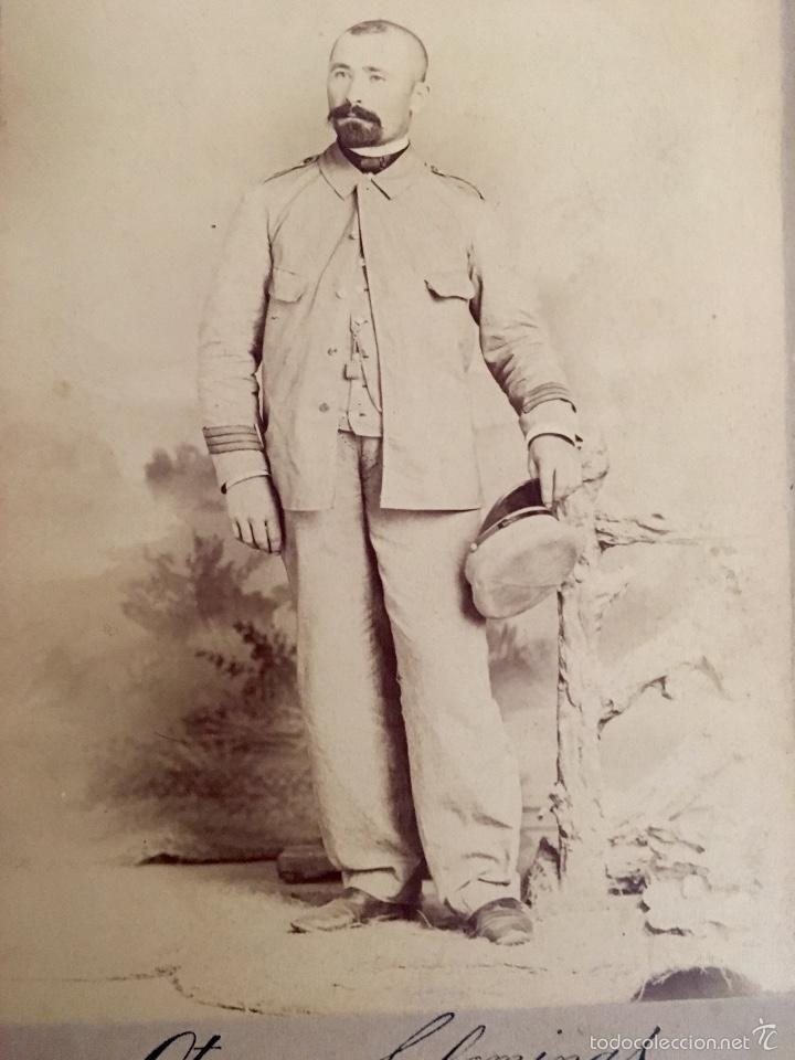 Fotografía antigua: Combatiente Español guerra de cuba 1898 - Foto 2 - 57944389