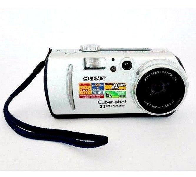 Sony Cyber-shot  2.1 MP DSC-P50 Digital Still Camera 6x Precision | eBay