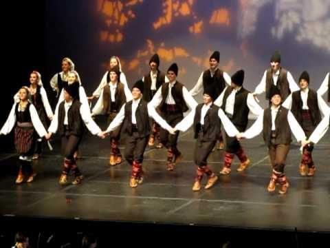 Serbian Folk Dance from Vranjsko Polje