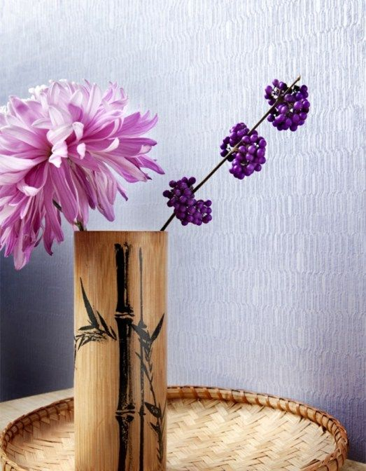 Small scale geometric print wallpaper. Add contemporary style in your bedroom with Swerve Heliotrope Wallpaper SR1168