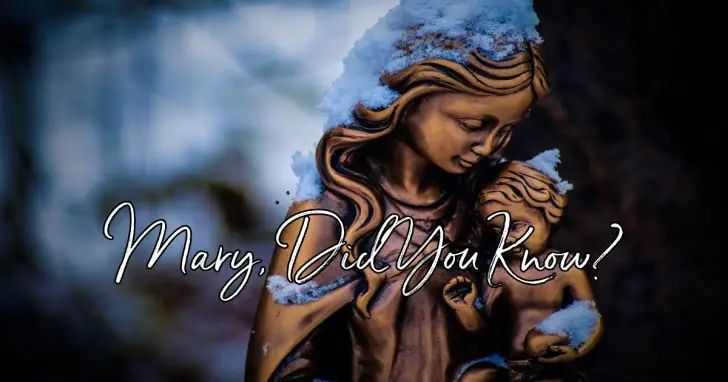 Mary, Did You Know? - Lyrics, Hymn Meaning and Story   Modern christmas songs, Christian music ...
