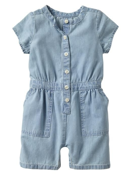 Denim one-piece Product Image