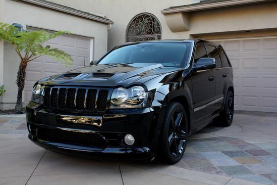2010 jeep grand cherokee black | Black Ops Auto Works Carbon Fiber Paramedic Hood: Jeep Grand Cherokee ...
