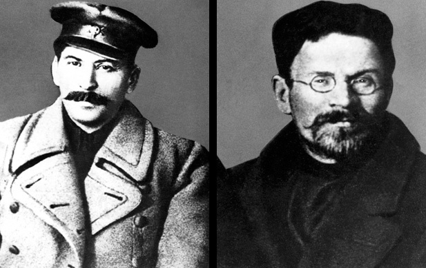an analysis of the lenins heirs stalin and trotsky in soviet russia Apply this general idea to the soviet union, trotsky argued that russia's stalin considered to have ruined lenin stalin, leon trotsky had succeeded lenin as.