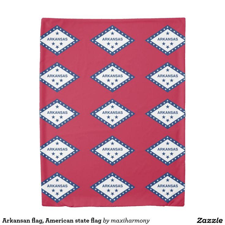 Arkansan flag, American state flag Duvet Cover