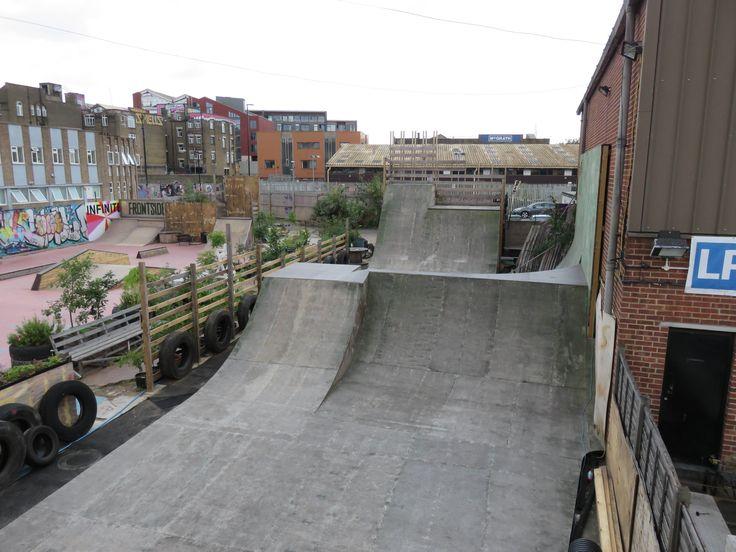 Guide to Frontside Gardens Skatepark