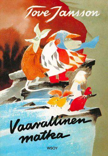 1977 Vaarallinen matka julkaistaan. Kirja on lapsille suunnattu kuvakirja, jossa seurataan Susannan, Hemulin, Tiuhtin ja Viuhtin painajaismaista matkaa läpi Muumilaakson.