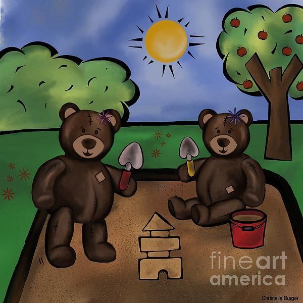 Kids room teddybear range