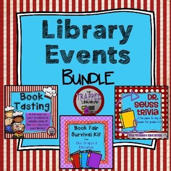 Library Events Kits BundleThis Library Events Bundle includes the following…