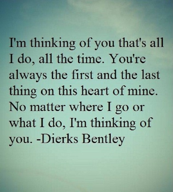 Thinking Of You Quotes: Sweet Thinking Of You Quotes. QuotesGram