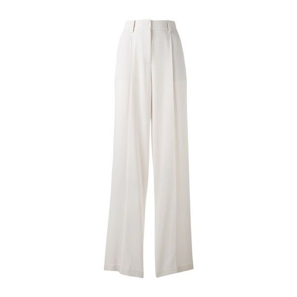 Awesome THEORY uAdamaris uwide Leg Trousers liked on Polyvore featuring