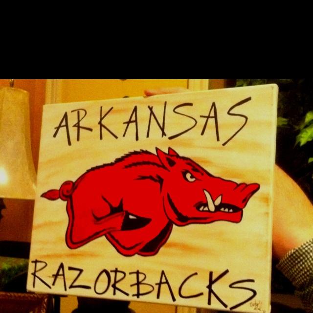 18 best Razorback stuff images on Pinterest | Arkansas razorbacks ...