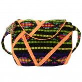 Sacha // Orange Aztec Bag € 19,95 #bag #aztec #neon