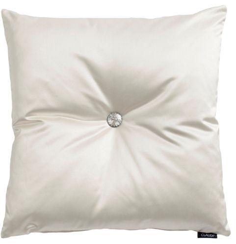 Claudi : Exclusieve kussens Dafne White 45x45 cm