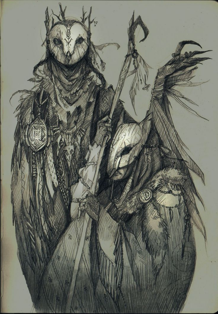 drawing, art, fantasy, owl, authentic, fox, mask, traditional art, pencil, sketchbook