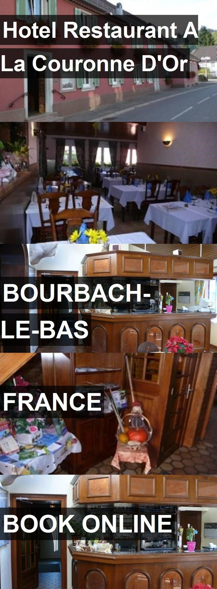 Hotel Restaurant A La Couronne D'Or in Bourbach-le-Bas, France. For more information, photos, reviews and best prices please follow the link. #France #Bourbach-le-Bas #travel #vacation #hotel