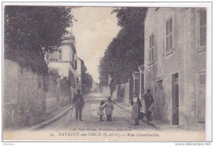 Essonne - Savigny-sur-Orge - Rue Chamberlin - Savigny Sur Orge