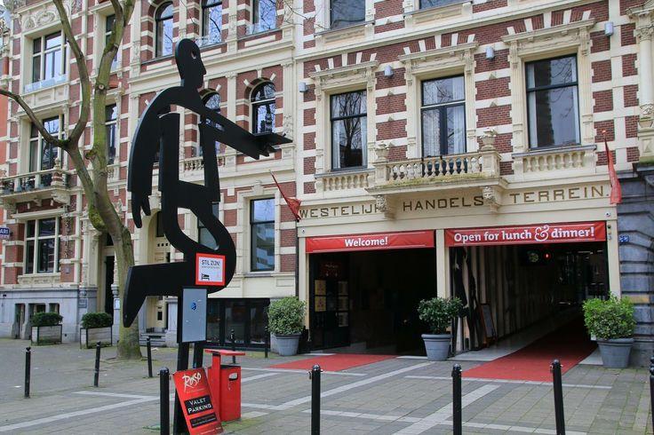 Westelijk Handelsterrein aan de van Vollenhovenstraat/Rotterdam