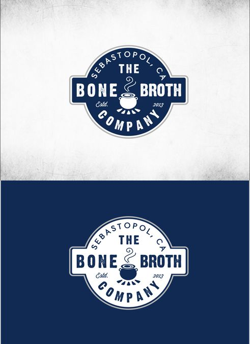 Create a artisanal image for The Bone Broth Company logo by Kristanna