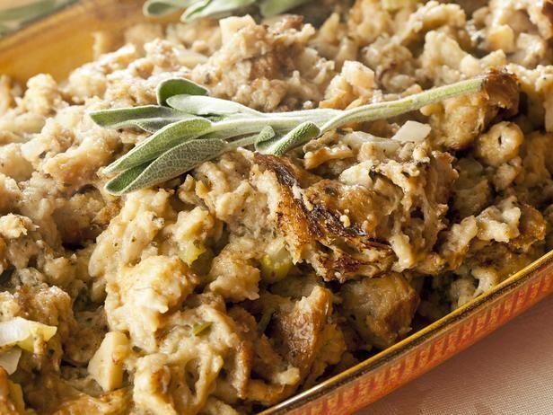 Wild Mushroom, Herb and Pecan Stuffing Recipe