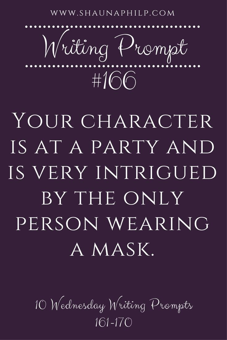 Reverse: PCs at a masquerade and there is one individual who ISN'T wearing a mask. They recognize that person.