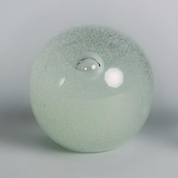Glass vase by Timo Sarpaneva for Iittala