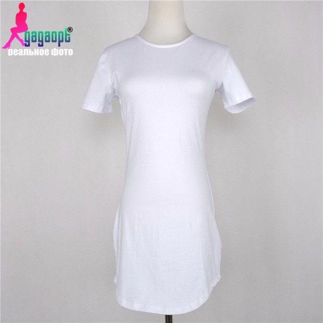 Goodbuy Summer Women's Cotton Dress Slim Beach Party Dress Bathrobe Femme Jurken Club Sheath Vintage Dress