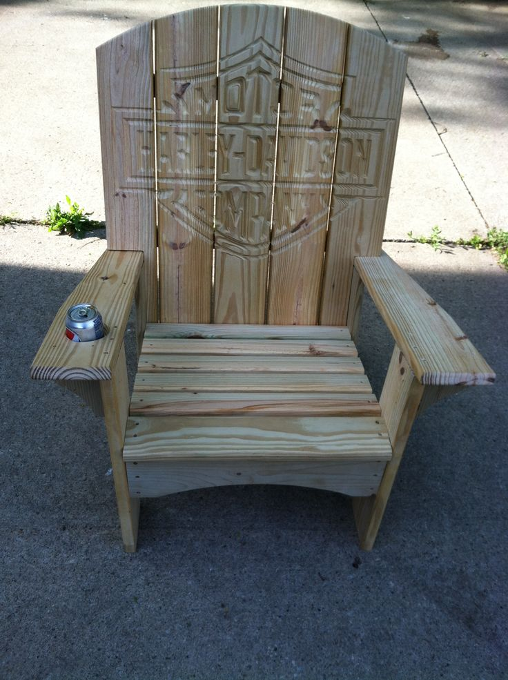 Furniture :: Outdoor Furniture :: Ultimate Harley Davidson Adirondack Chair
