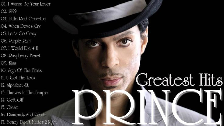Prince Greatest Hits - RIP PRINCE