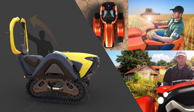Little Tractor for Big Jobs | Yanko Design