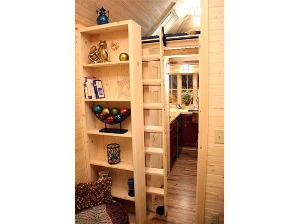 Sneaky Loft Ladder In The Cypress 20 Tumbleweed Tiny House Do You Like