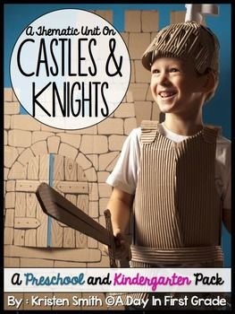 Castles and Knights will help your preschool or kindergarten students learn, understand, and practice using the terms used when talking about Medieval Times, castles, knights, and princesses. It also will provide you with resources to make your unit come to life. $8.50