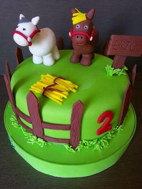 CHIQUI CAKES: Pastel Caballos para Eric