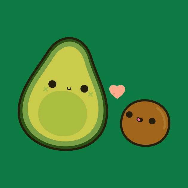 Kawaii Avocado Avocado Cartoon Kawaii Doodles Cute Avocado